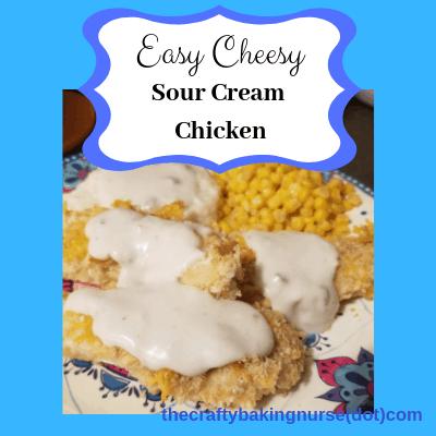 Easy Cheesy Sour Cream Chicken
