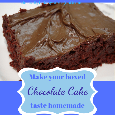 Make Boxed Chocolate Cake Taste Like Bakery Cake