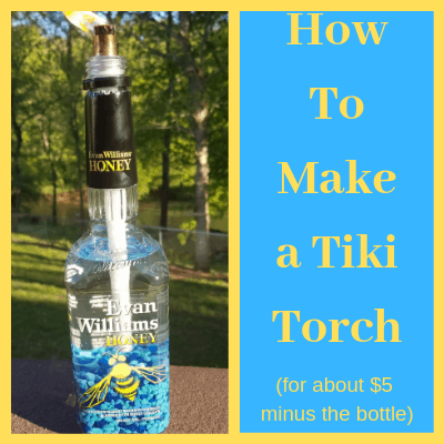 Make a DIY tiki torch for less than $5