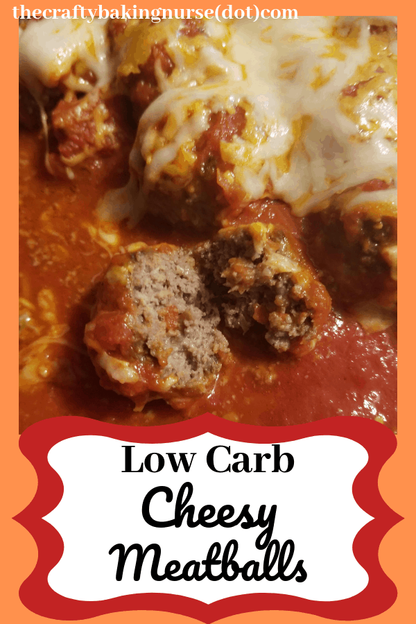 Low carb cheesy meatballs