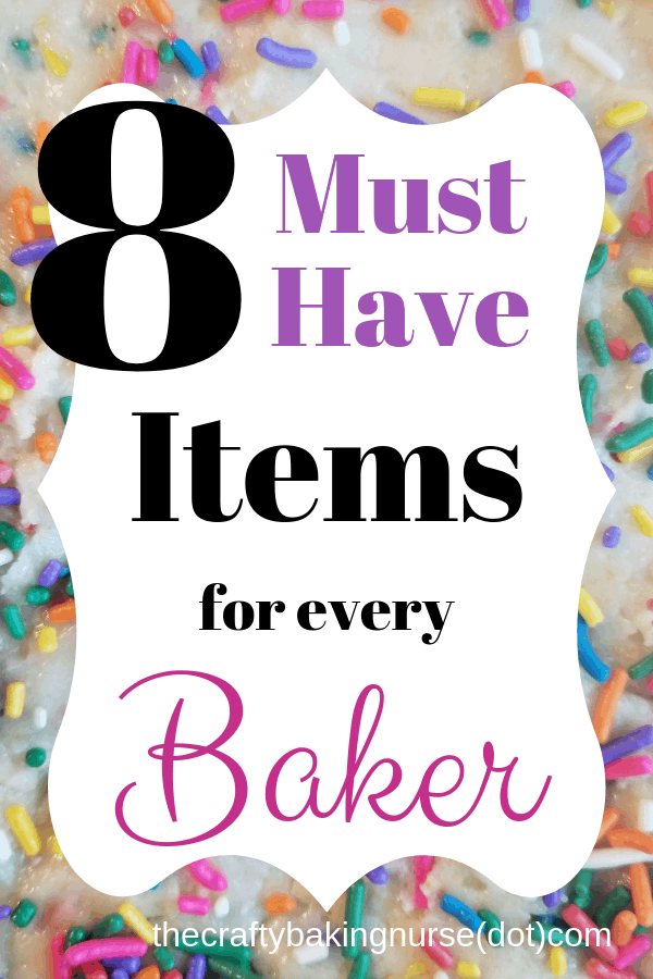 Must have items for baker