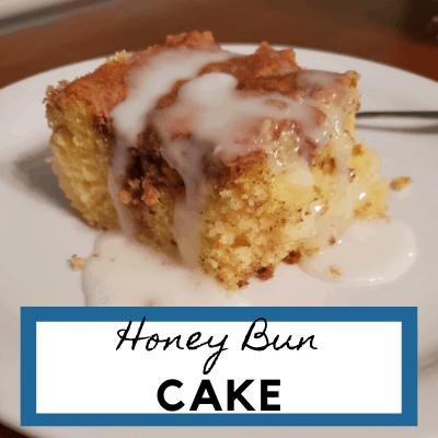 Delicious Honey Bun Cake
