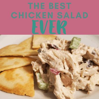 The Best Chicken Salad Ever
