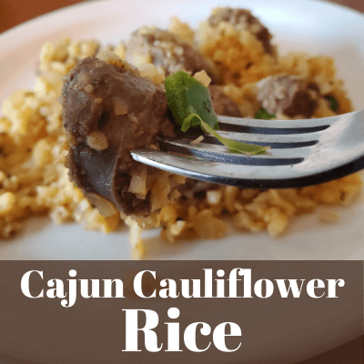 Cajun Cauliflower Rice